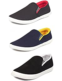 Shoes For Men Casual Stylish In Various Sizes & Colors (Combo Pack Of 3 Loafers)