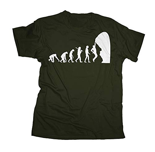 Ma2ca - Evolution - Climbing Kletter T-Shirt-olive-s