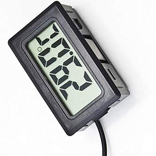 NAttnJf Digital thermometer Aquarium LCD 2m Fisch Aquarium Wasser Kühlschrank Sonde Thermometer Elektronische LCD Digital Tester -