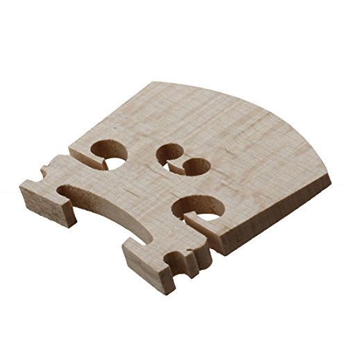 ACAMPTAR Replacement 1/4 Size Violin Parts String Centre Wooden Bridge