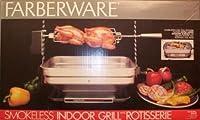Vintage Faberware Rotisserie Grill Indoor Hearth Broiler INCOMPLETE