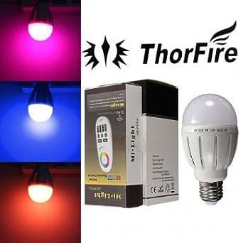 Ampoule de haute qualité ThorFire Modèle -TF- E2706-3 E27 6W RVB LED 90-240V