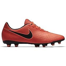 Nike Magista Ola Ii Fg, Botas de Fútbol para Hombre, Naranja (Total Crimson / Black-Brt Mango), 43 EU