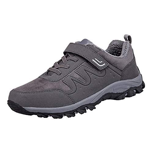 Kinlene Stivali da Passeggio Unisex Stivali con Punta in Acciaio Stivali per Utensili con Tubo Alto Scarpe da Escursionismo all'Aperto Sneakers Impermeabili Antiscivolo