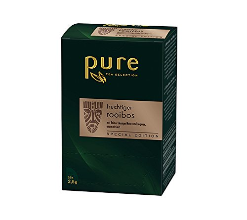 Pure Tea fruchtiger Rooibos 25 Beutel á 2,5g Special Edition