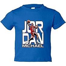 Camiseta niño Michael Jordan leyenda del baloncesto