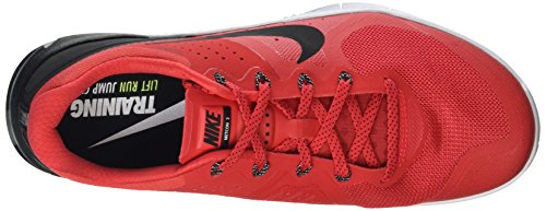 Nike 819899-601, Chaussures de Sport Homme Rouge (Action Red/white/black)