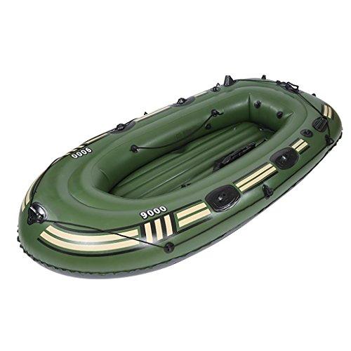 YF 4 Leute Dicker Fischerboot Gummiboot Kanusport Schlauchboot Eingebaute Aufblasvorrichtung