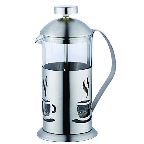 Renberg Smog - Cafetera de émbolo, 350 ml, acero inoxidable