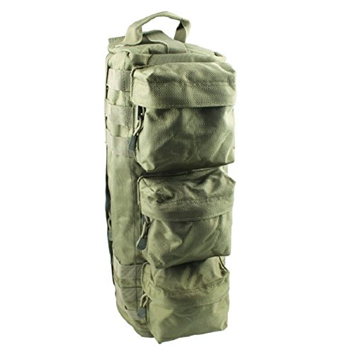 JUCAI randonnée tactique de chasse Camping One Sac à bandoulière extérieur d'assaut militaire Lot de chasse Sacs à dos, vert militaire