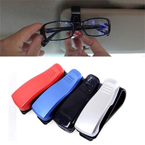 Moocevill - ABS-Auto-Träger-Masken-Sonnenbrille Brille-Gläser Ticket-Halter-Klipp Auto Befestigerclips Zubehör [Splitter]