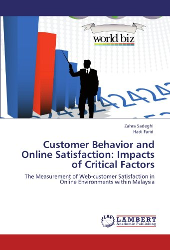 Customer Behavior and Online Satisfaction: Impacts of Critical Factors: The Measurement of Web-customer Satisfaction in Online Environments within Malaysia