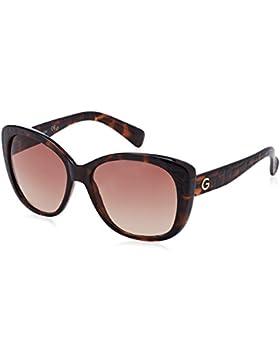 Guess GG1123, Gafas de Sol para Mujer, Marrón (Havana), 57