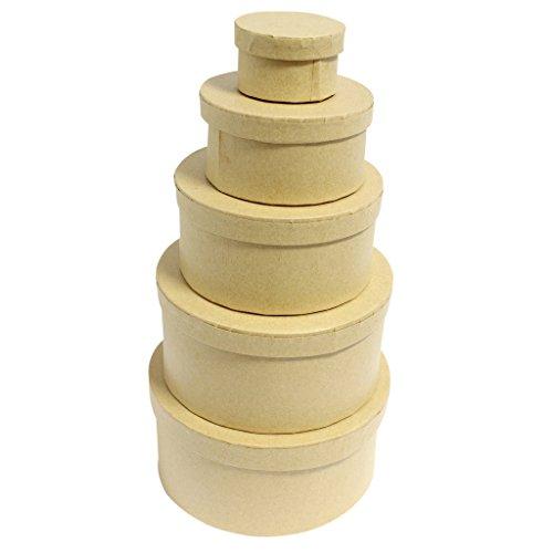 curtzytm-set-of-5-plain-round-cardboard-stackable-nesting-craft-boxes-decoupage-papier-mache-paintin