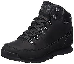 The North Face Herren Back-to-Berkeley Redux Leather Trekking-& Wanderstiefel, Schwarz (Tnf Black Kx8), 39 EU