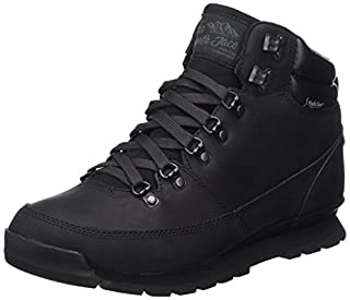 The North Face Men's Back-to-Berkeley Redux Leather High Rise Hiking Boots, Black (Tnf Black/Tnf Black Kx8), 7.5 UK (41 EU) (B01N2UDXR2) | Amazon price tracker / tracking, Amazon price history charts, Amazon price watches, Amazon price drop alerts
