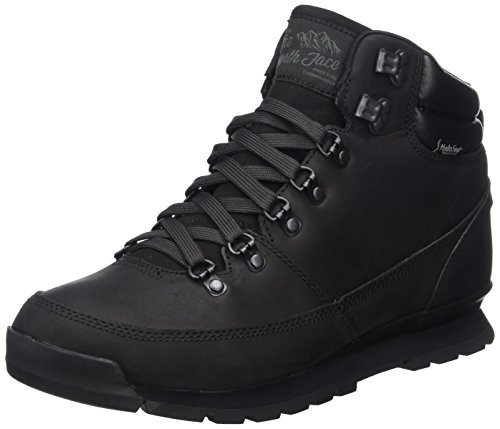 The North Face Herren Back-to-Berkeley Redux Leather Trekking-& Wanderstiefel, Schwarz (Tnf Black Kx8), 43 EU