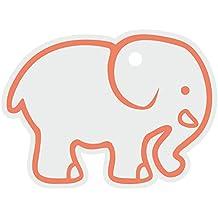 Kinderparty-Events PrintValue Baby-Elefant Bedruckter Fallumbau Diy-Bastelpapier Zum Aufhängen Von Etiketten Für Geburtstagsfeier 200 Stück Erntedankfest Und Festival-New York Gelb