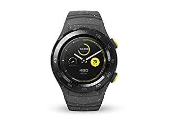Huawei Watch 2 (Bluetooth) Smartwatch Mit Grauem Sportarmband (Nfc, Bluetooth, Wlan, Android Wear™ 2.0) Grau 0