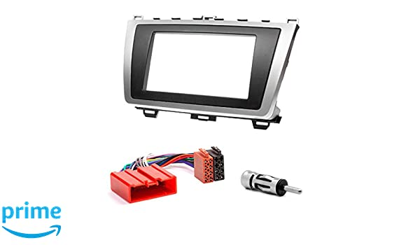CARAV 08-011-15-6 Kit de Montage autoradio fa/çade dautoradio DIN pour atenza 2008-2012