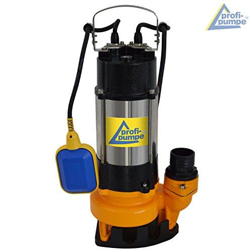 TAUCHPUMPE BAU-STAR 750 als SCHMUTZWASSERPUMPE. Die Tauchpumpe Schmutzwasser - Pumpe ist ideal als Abwasserpumpe, Fäkalienpumpe, Drainagepumpe u. Baupumpe einzusetzen. Bewährtes VORTEX-Prinzip, Robust und Zuverlässig!