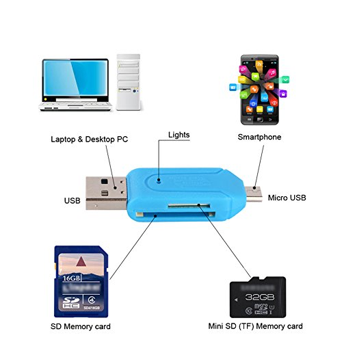 Oppo Find7a Compatible Certified Tested OTG SMART CONNECTION KIT / OTG SMART / On The Go Cable / Micro USB OTG Cable / OTG / Attach To Pendrive, Mouse, Keyboard, Card Reader - Color May Vary BY ESTAR  available at amazon for Rs.249