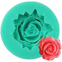 WA Pretty Flower Cake Mold alimentos silicona Fondant decoración molde cortador de azúcar para