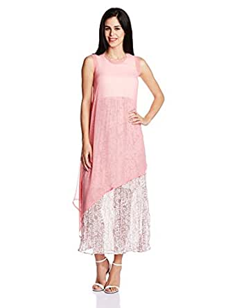 AND Women's A-Line Dress (SS16N61-DR-GC1-2P_Pink Print_8)