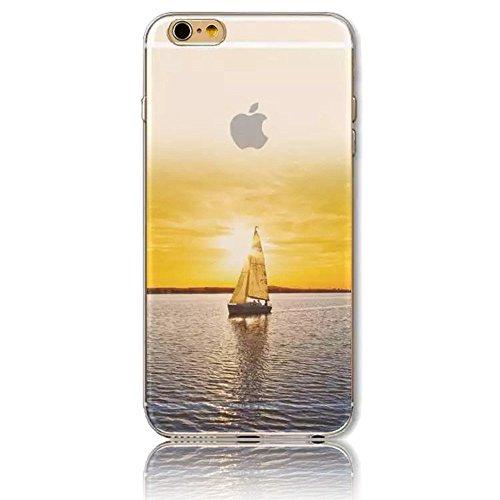 """Sunroyal® 3en1 TPU Coque Apple iPhone 6/6S 4.7"""" Etui Housse Transparente Creative 3D Case Cover ExtraSlim Ultra-light Premium Doux Silicone Gel Cas Couvrir Élégant Souple Shell Replacement Hull Téléph Pattern 37"""