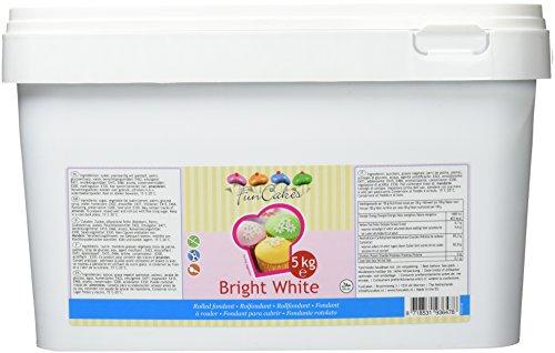 FunCakes Rollfondant weiß mit Vanille-Geschmack 5kg