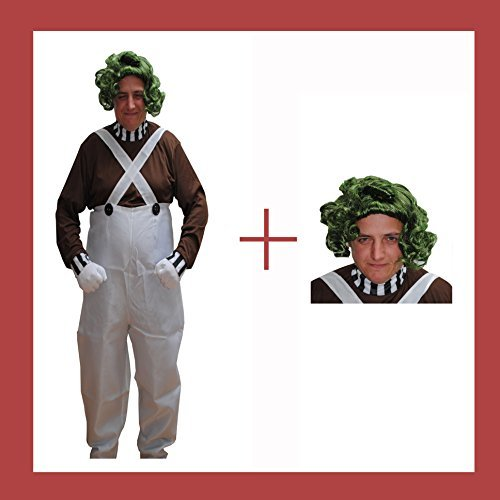 oompa Party Perruque-Taille M (Oompa Loompa Perücken)