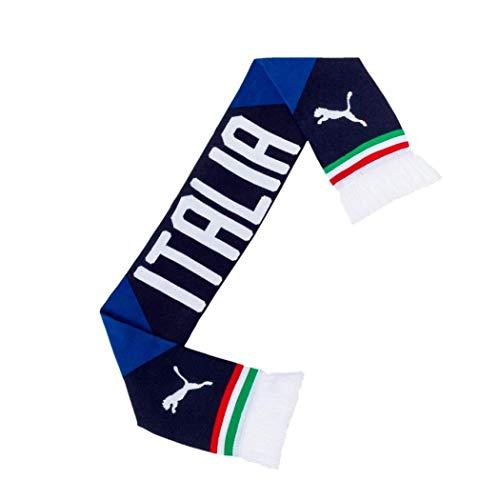 PUMA Schal Italia Fan Scarf, Team Power Blue-Peacoat, UA, 53419 01 -
