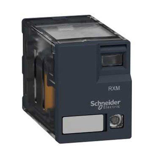 Schneider Electric RXM4AB3F7 Mini-Relais, LED, 120 V, Miniatur-Steckrelais, Zelio Rxm, 4 C/O, 120 V AC, 6 A, mit LED -