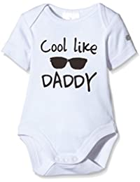 Twins Kurzarm, Druck Cool Like Daddy - Body Bebé Unisex