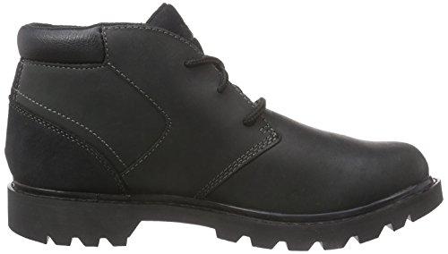 Caterpillar STOUT Herren Desert Boots Schwarz (MENS BLACK)