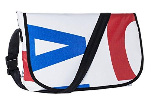 blueavocado Banner Messenger Bag, multicolor -