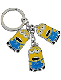 RJM Single Sided Despicable Me Minion Metal Keychain | Key Ring For Car Bike Home Keys | Key Chain For Kids Men...