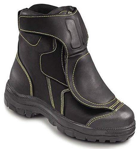 OTTER 25299 Sicherheitsschuh Sicherheitsschuhe Schuhe Stiefel Hoch Feuerwehr, Größe:46 -