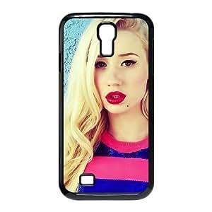 Iggy Azalea Red Lips-Schutzhülle für Samsung Galaxy S4, Design Phone Case for Samsung Galaxy S4 SIV I9500 Kaktana {Black}