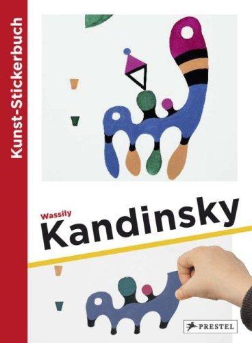 Kunst-Stickerbuch Wassily Kandinsky