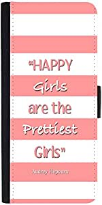 Snoogg Happy Girls Are The Prettiest Girls Designer Protective Flip Case Cove...