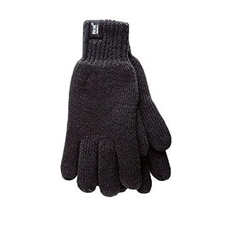 HEAT HOLDERS - Damen Thermisch Winter Handschuhe in 7 Farben (S/M, Schwarz)