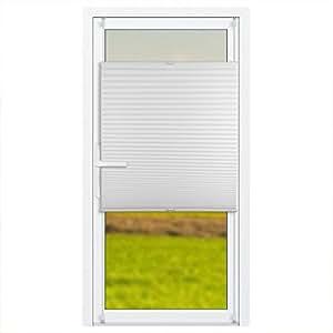 klemmfix plissee jalousie f r balkont r mit klemmtr ger rollos f r t ren ohne bohren. Black Bedroom Furniture Sets. Home Design Ideas