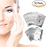 Cerotti Gel per Estensioni Ciglia - 50 PCS non lascia pelucchi Lash extension Eye gel Patches (50PCS)