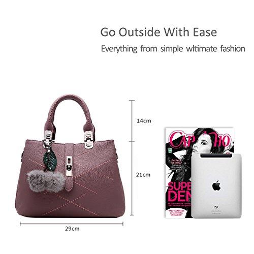 Nicole&Doris 2017 new wave packet Messenger bag ladies handbag female bag handbags for women(Red-brown)