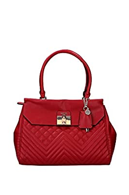 Guess Rebel Roma Satchel, Sacs à Main Femme, Taille Unique