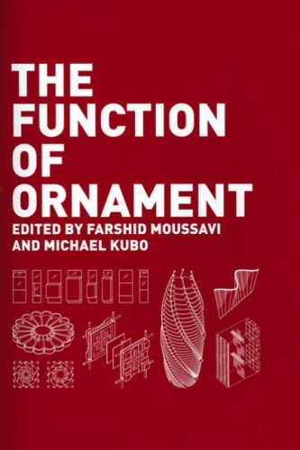 The Function of Ornament: Second Printing por Farshid Moussavi
