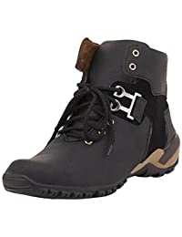Royal Star Men's Black Synthetic Leather Boots Shoes/Leather Boots/ Boot Shoes/ Shoes Boots/All Size