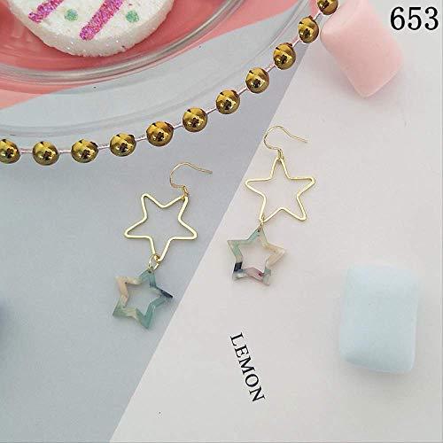925 Silberne Süßigkeit Loli Ohrringe Nette Herz-Geformte Bogen-Franse-Ohrringe653 (Geformte Süßigkeiten Herz)