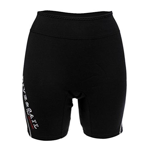 Homyl 1.5mm Neopren Pants Shorts Badehose Neoprenhose Wassersport Schwimmen Schnorcheln Neoprenshort Paddelhose für Herren Damen - Grau, Männer XL